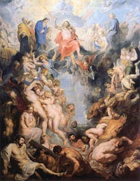 The Last Judgement | Rubens | Gemälde Reproduktion