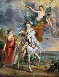 The Triumph of Juliers, 1st September 1610 (The Medici Cycle), c.1621/25 by Rubens | Painting Reproduction