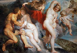 Ixion, King of the Lapiths, Deceived by Juno, c.1615 by Rubens | Painting Reproduction