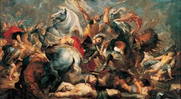 The Death of Decius Mus in Battle, 1618 by Rubens | Painting Reproduction