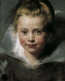 Portrait of Clara Serena Rubens, c.1616 by Rubens | Painting Reproduction