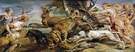 Diana's Hunt | Rubens | Gemälde Reproduktion