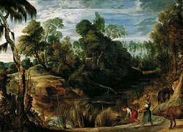 Landscape with Milkmaids and Cows | Rubens | veraltet