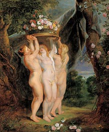 The Three Graces | Rubens | Gemälde Reproduktion
