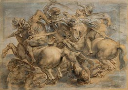 Battle of Anghiari | Rubens | Gemälde Reproduktion