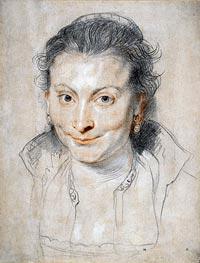 Portrait of Isabella Brandt | Rubens | veraltet