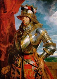 Emperor Maximilian I, 1518  by Rubens | Painting Reproduction
