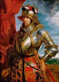 Emperor Maximilian I | Rubens | Gemälde Reproduktion