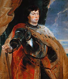 Charles the Bold of Burgundy, c.1618 by Rubens | Painting Reproduction