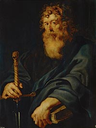 Saint Paul, c.1611 by Rubens | Painting Reproduction