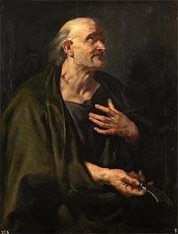 Saint Bartholomew | Rubens | Gemälde Reproduktion