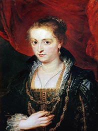 Suzanne Fourment, undated by Rubens | Painting Reproduction
