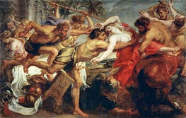 The Rape of Hippodame (Lapiths and Centaurs) | Rubens | veraltet