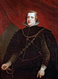 Philip IV of Spain, undated by Rubens | Painting Reproduction