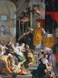 The Miracle of Saint Ignatius Loyola, c.1617/18 by Rubens | Painting Reproduction