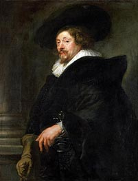 Peter Paul Rubens (Self-Portrait) | Rubens | Gemälde Reproduktion