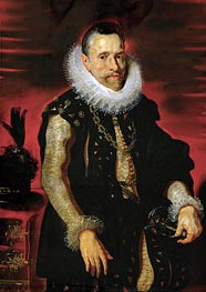Archduke Albrecht VII, Governor of the Netherlands, c.1613/15 by Rubens | Painting Reproduction
