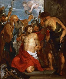 The Martyrdom of Saint George, undated by Rubens | Painting Reproduction