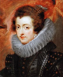 Isabella of Bourbon, 1629 by Rubens | Painting Reproduction