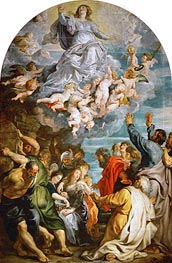 Assumption of Saint Mary, c.1611/14 by Rubens | Painting Reproduction