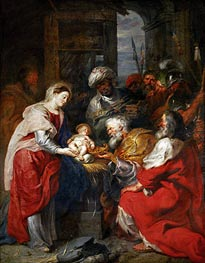 The Adoration of the Magi, c.1626/29 by Rubens | Painting Reproduction