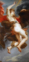 The Rape of Ganymede, c.1636/38 by Rubens | Painting Reproduction