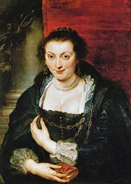 Isabella Brant, undated by Rubens | Painting Reproduction