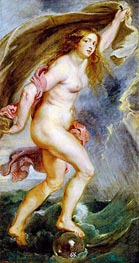 Fortune, c.1636/38 by Rubens | Painting Reproduction
