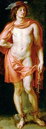 God Mercury, c.1636/38 by Rubens | Painting Reproduction
