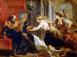 The Banquet of Tereus, c.1636/38 by Rubens | Painting Reproduction