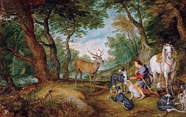 The Vision of Saint Hubertus | Rubens | veraltet