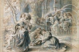 The Garden of Love (Left Part) | Rubens | Gemälde Reproduktion