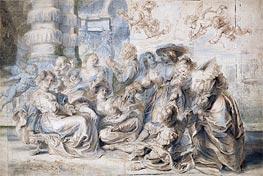 The Garden of Love (Right Part) | Rubens | Gemälde Reproduktion