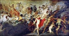 Council of the Gods, c.1622/25 von Rubens | Gemälde-Reproduktion