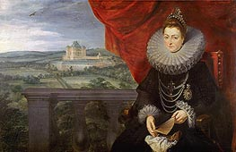 The Infanta Isabel Clara Eugenia, c.1615 von Rubens | Gemälde-Reproduktion