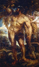 Hercules in the Garden of the Hesperides,  c.1638 von Rubens | Gemälde-Reproduktion