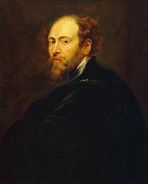 Self Portrait, c.1615 von Rubens | Gemälde-Reproduktion