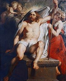Resurrected Christ Triumphant, c.1616 von Rubens | Gemälde-Reproduktion