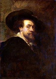 Self Portrait, c.1623/25 von Rubens | Gemälde-Reproduktion