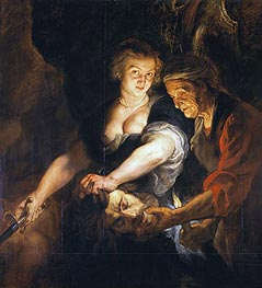 Judith with the Head of Holofernes, c.1616 von Rubens | Gemälde-Reproduktion
