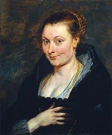 Isabella Brant, c.1620 von Rubens | Gemälde-Reproduktion