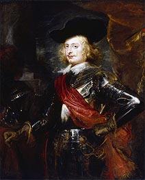 Portrait of Archduke Ferdinand, 1635 von Rubens   Gemälde-Reproduktion