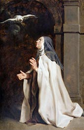 Teresa of Avila's Vision of the Dove | Rubens | veraltet