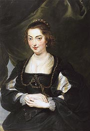 Portrait of a Young Woman | Rubens | Gemälde Reproduktion