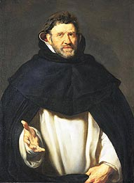 Portrait of Michael Ophovius, Bishop of  Hertogenbosch, c.1615/17 von Rubens   Gemälde-Reproduktion