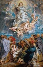 The Assumption of the Virgin | Rubens | Gemälde Reproduktion