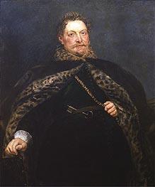 Portrait of Jan van Montfort | Rubens | Gemälde Reproduktion