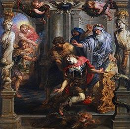Death of Achilles | Rubens | Gemälde Reproduktion