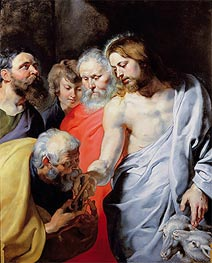 Christ's Charge to Peter, c.1616 by Rubens | Painting Reproduction