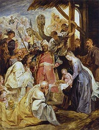 The Adoration of the Magi | Rubens | Gemälde Reproduktion